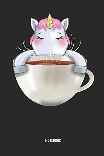 Einhorn | Notizbuch: Einhorn mit großer Tasse Kaffee - Liniertes Notizbuch & Schreibheft für Frauen, Mädchen und alle die Einhörner lieben. Tolle Geschenk Idee für alle Einhorn Freunde. (Große College Kostüm)