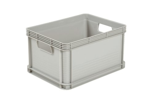 Cajas de almacenaje de plástico apilables