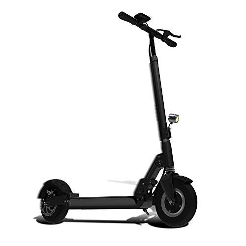 """SmartGyro Xtreme PRO - Patinete eléctrico económico, 8"""", 3 velocidades, velocidad 25 Km/h, autonomía 30 Km, batería de litio 10.000 mAh, Doble Suspensión, freno de disco, scooter eléctrico barato, color negro"""