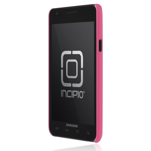 Incipio Feather Ultralight Hard Shell Case für Samsung Galaxy S II (AT & T) - 1 Pack, neon pink Incipio Ultralight Feather