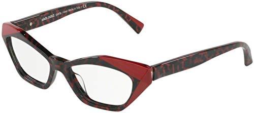 Alain mikli occhiali da vista 3094 004 rouge memphis/red