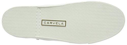 Carvela Luxor, Baskets Basses femme Argent - Argenté