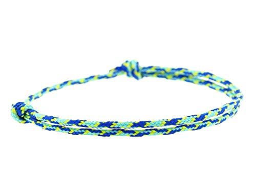 KOMIMAR dezentes Surfer Armband CABRILLO BEACH - Schmuck - Strandschmuck - lässig - Armband - Armreif - Textilarmband - Brecelet - Sommertrend - Herren Armband - Damen Armband - cool - Surf Bracelet