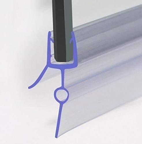 Duschdichtung für 4-6mm Duschtrennwand, Dichtung 90 cm lang, Höhe der Lippe 22mm