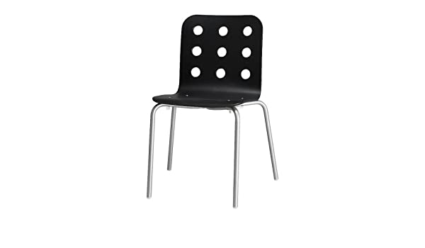 IKEA JULES Visitor s chair, black
