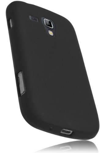 mumbi TPU Silikon Schutzhülle Samsung Galaxy S Duos / S Duos 2 Hülle schwarz
