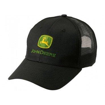 john-deere-cappellino-classico-nero