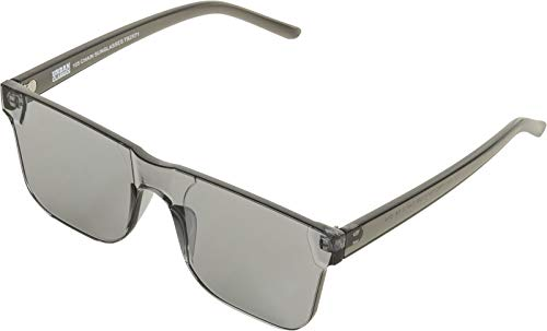 Urban Classics Damen/Herren Sonnenbrille 105 Chain Sunglasses black/transparent