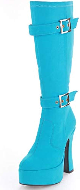 15 cm di tacco che cravatta con spessi e corti stivali modello fase scarpe,43,nero | Bel design  | Uomo/Donne Scarpa