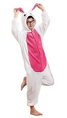 Costumes Bunnies - Tonwhar® Combinaison lapin Pyjama Costume Cosplay Tenue