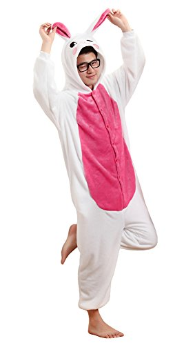 "Tonwhar®, Pyjama/Einteiler/Kostüm/Cosplay-Anzug ""Bunny"" Gr. Large, -"