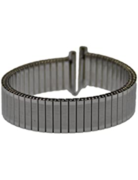 Rowi Fletch Zugband 14mm Uhrenarmband Edelstahl Flex Armband Uhr Band 392970