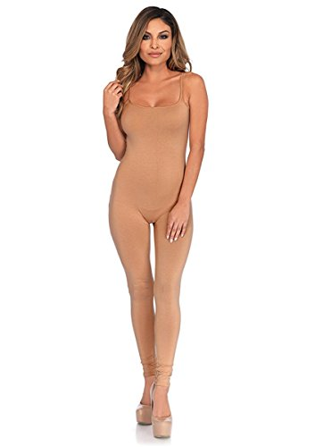 Leg Unitard (Basic Nude Adult Costume Unitard Small/Medium)