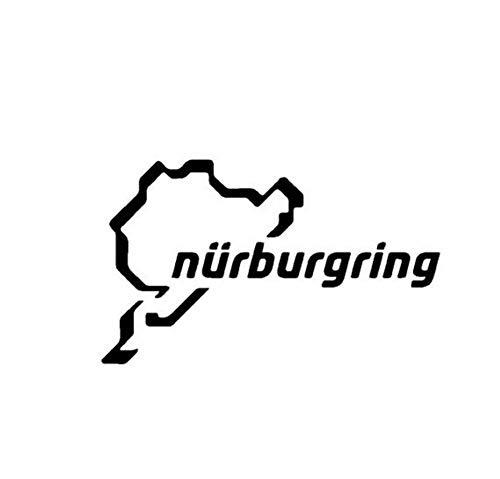 Nürburgring Auto Aufkleber, Rennstrecke Rennwagen Motorsport Vinyl Decor Aufkleber Für Karosserie 15x10 cm