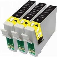 Prestige Cartridge T1281 3 Cartucce d'Inchiostro Compatibile per Stampanti Epson