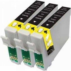 Preisvergleich Produktbild Prestige Cartridge T0801 3-er Pack Druckerpatronen für Epson Stylus Photo P50, PX650, PX660, PX700W, PX710W, PX720WD, PX800FW, PX810FW, PX820FWD, PX830FWD, R265, R285, R360, RX560, RX580, RX585, RX685, schwarz