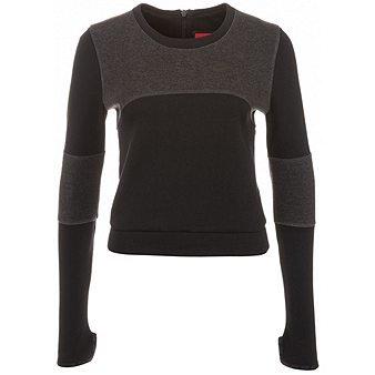 50 Fleece Crew Sweatshirt (Nike Damen Tech Fleece Crew Sweatshirt schwarz/hellschwarz, XL/48-50)