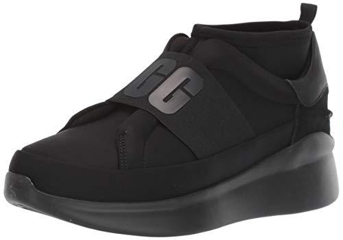 UGG Australia Neutra Sneaker, Zapato para Mujer, Black/Black, 37 EU