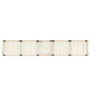 Safetots Wooden Multi Panel Room Divider Up to 416.5CM