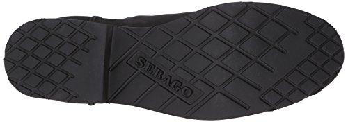 Sebago B26750 DRAKE Chelsea Chocolate Suede Boot Black