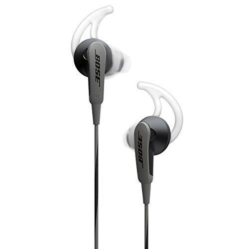Bose ® SoundSport in-ear Kopfhörer nur Audio (ohne Mikrofon/Fernbedienung) schwarz