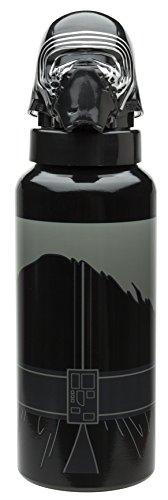 Joy Toy 80456635ml Kylo Ren 3d botella de aluminio con tornillo superior