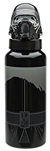 Joy Toy 80456 635 ml Kylo REN 3D Botella de Aluminio con Tornillo Superior