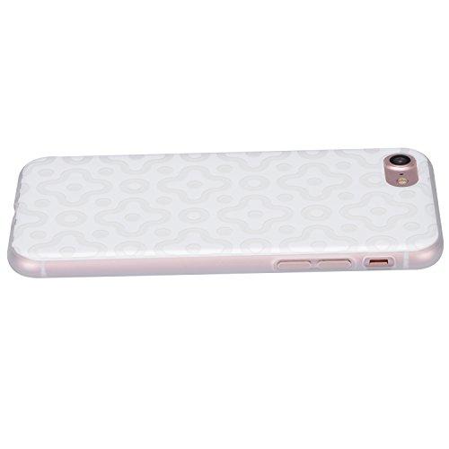 Cover per iPhone 6S, Custodia per iPhone 6, Sunroyal Creativo Cover Soft Morbida in Silicone Gel Gomma TPU Ultra Thin Slim con Bordo Protezione Fotocamera e Tappo Antipolvere per iPhone 6 6S (4.7 poll Modello 13