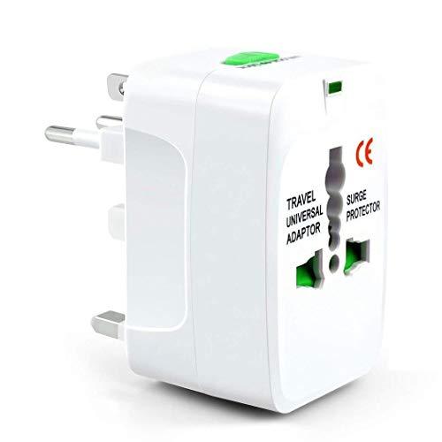 Jintes Adaptador de Viaje Giratorio Mundial de US/UK/EU/AU Plug PC para teléfono móvil Accesorios