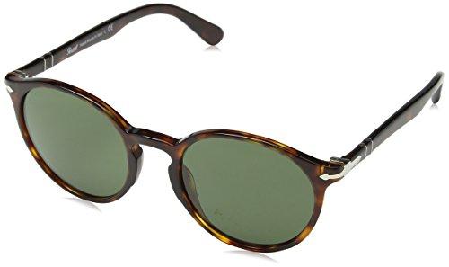 Persol Herren 0Po3171S 24/31 52 Sonnenbrille, Braun (Havana/Green)