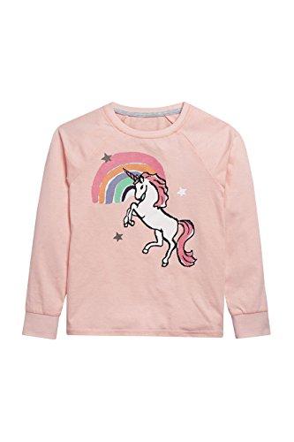 next-Fille-Lot-De-Deux-Pyjamas-Rose-Et-Gris--Motif-Licorne-Avec-Leggings-3--16-Ans