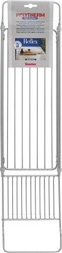 metaltex-reflex-soporte-para-banera-ampliable-con-revestimiento-de-polytherm-color-plateado