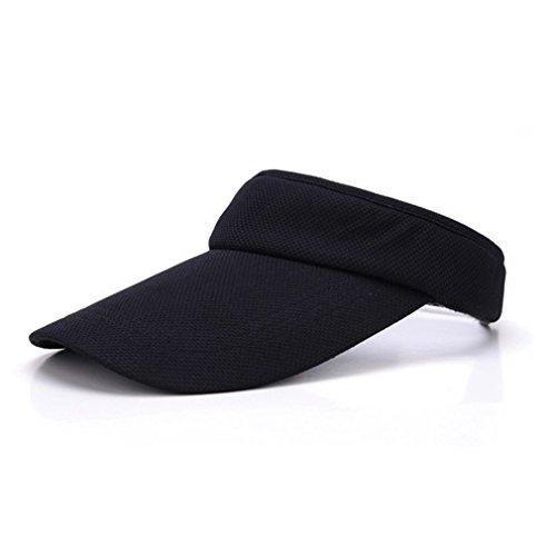 wuxi Damen Visor Sonnenblende Sporty Visor in One Size Verstellbarer Hut für Golf, Tennis Oder Andere Freizeitaktivitäten im Sommer