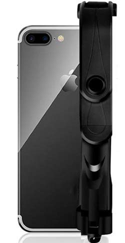 Haiyuannan nuovo bastone per selfie con treppiede stick per selfie orizzontale e verticale per telefono cellulare mini artefatto dell'autoscatto bluetooth