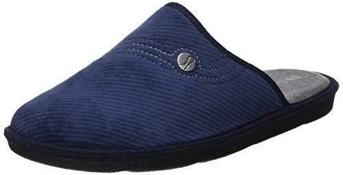 inblu Bart, Pantofole Aperte sul Retro Uomo, (Blu 004), 42 EU