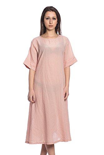 Abbino 17241 Kleid Damen Frauen Mädchen - Made in Italy - 4 Farben -  Übergang Frühling 377af9bf21