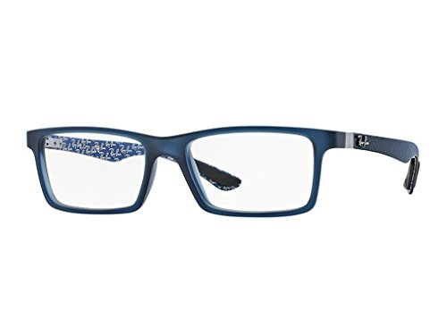 Ray Ban Optical Rx8901 Demi Gloss Blue Kunststoffgestell Brillen, 53mm