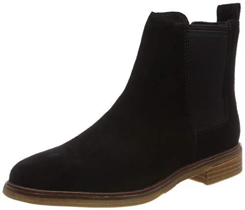 Clarks Damen Clarkdale Arlo Chelsea Boots, Schwarz (Black SDE), 38 EU -