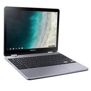 Samsung Chromebook Plus XE521QAB-K01US Laptop (Chrome, 4GB RAM, 32GB HDD, Intel Celeron, Silver, 12.2 inch)