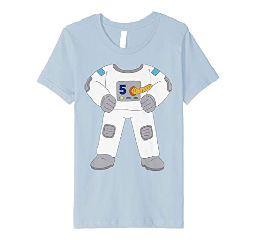 Kostüm Outer Space - Kinder 5 Years Old Astronaut Kostüm 5th Birthday Funny T Shirt