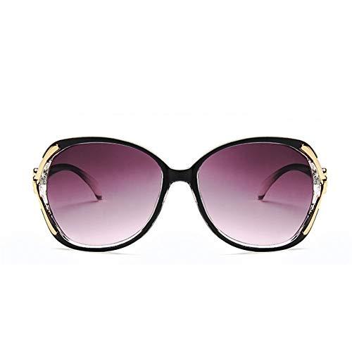LC & LC Frauen Sonnenbrillen Mode polarisierten Sonnenbrillen, Outdoor-Blendschutz Strahlenschutz UV400 Outdoor-Blendschutz 100% UV-Schutz, Übergroße Brillen Klassische Designer-Sonnenbrille,Red