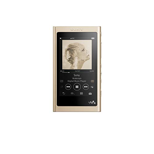 Sony NW-A55LN Walkman (16 GB, Hi-Res, Touch Screen, Bluetooth, NFC, microSD-Slot, Vinyl Processor), gold