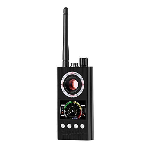 XCUGK Anti Spy Detektor Signal RF Signaldetektor Bug Spy Kamera Detektor GPS Signal Detektor für Versteckte Kamera Gerät Finder (Bewegungs-detektor-kamera Spy)
