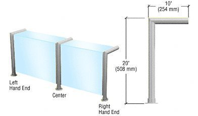 cr-laurence-sg925bs-crl-brushed-stainless-elegant-series-glass-on-front-and-top-shelf-sneeze-guard-r