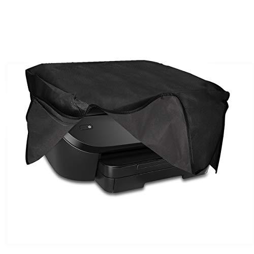 kwmobile Funda para HP Envy Photo 6230/7130 - Carcasa de [Silicona] Suave para Altavoz - Case Protector en [Gris Oscuro]