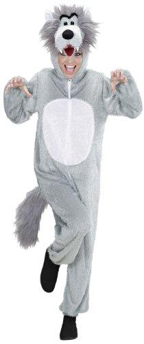 Widmann - Erwachsenenkostüm Wolf (Männer Wolf Kostüm)