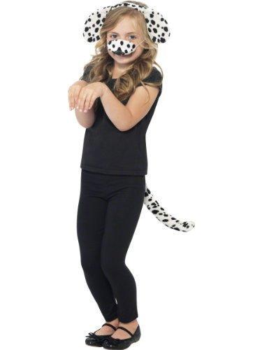 Girls Boys, 101 Dalmatiner-Zubehör-Set mit Haarreifen Book Tag Kostüm Outfit