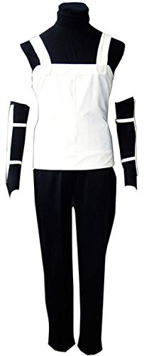 Chong Seng CHIUS Cosplay Costume Black Ops Outfit for Hidden Leaf Hatake Kakashi Anbu (Naruto Cosplay Kostüme Uk)