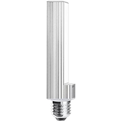 Century plc-102740pl lámpara, 230V LED, casquillo E27, 10W, 4000K, 800lm, plástico, blanco