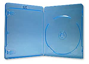 Blu-Ray Disc Storage Cases - 11mm Spine - (10 Pack)